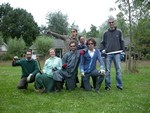 Giant hogweed hunters of Droevendaal
